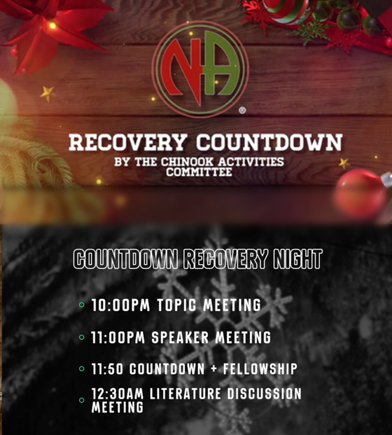 RECOVERY COUNTDOWN @ https://us04web.zoom.us/j/8379979457
