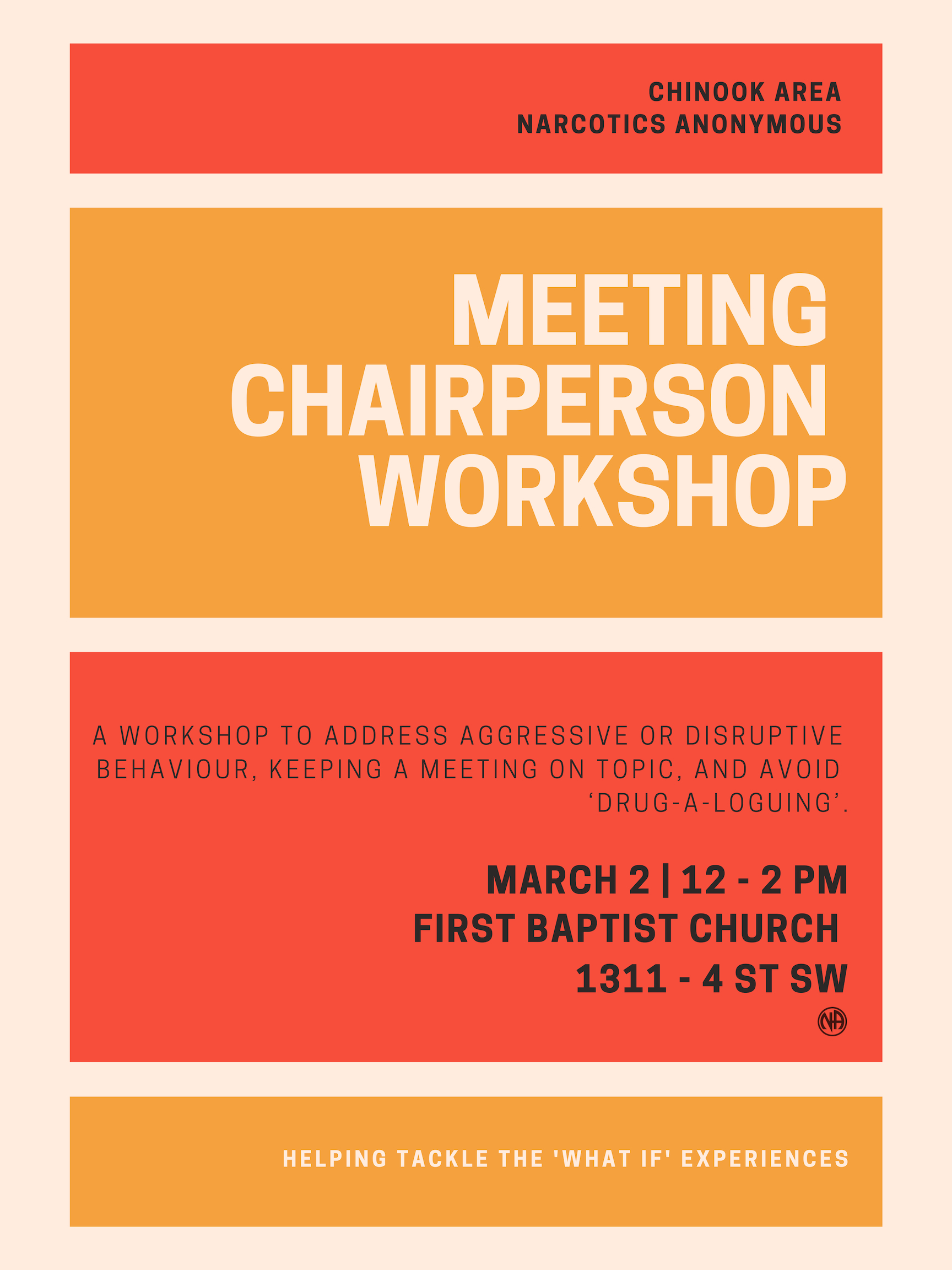 Meeting Chairperson Workshop @ First Baptist Church | Calgary | Alberta | Canada
